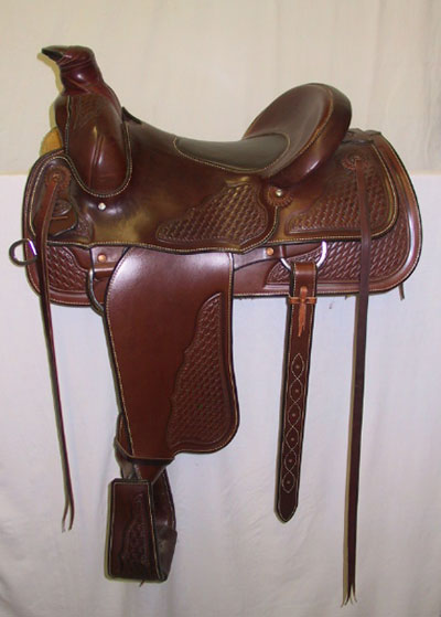 Willow Creek Saddle, Rusty Wallace Custom Saddles and